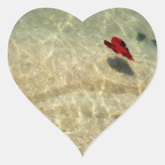 Floating Heart Sticker
