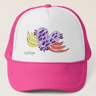 Floating Heart Trucker Hat