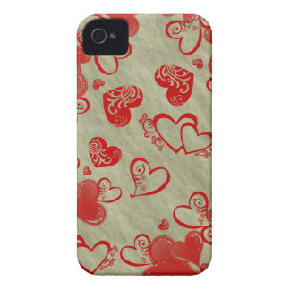 Floating Hearts iPhone 4 ID Case