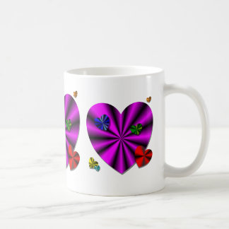 Floating Hearts Mug