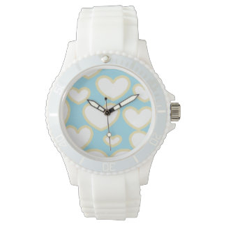 Floating Hearts Watch