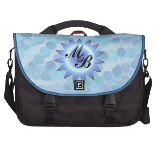 Floating Hexagons Commuter Bag