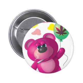 Floating High Bear Pin