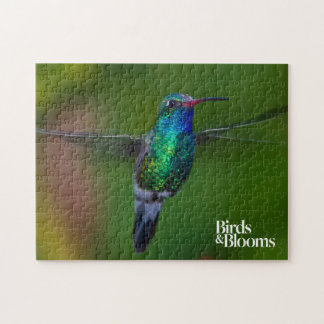 Floating Hummingbird Jigsaw Puzzle