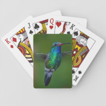 Floating Hummingbird Playing Cards