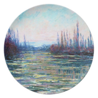 Floating Ice, 1882 Claude Monet Party Plate