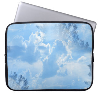 Floating in the clouds... computer sleeve