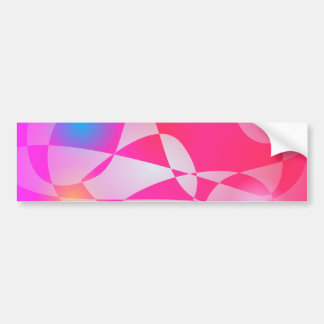 Floating int the Sky Car Bumper Sticker