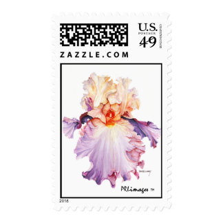 Floating Iris 2 Postage
