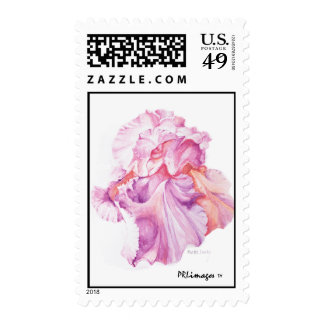 Floating Iris Postage