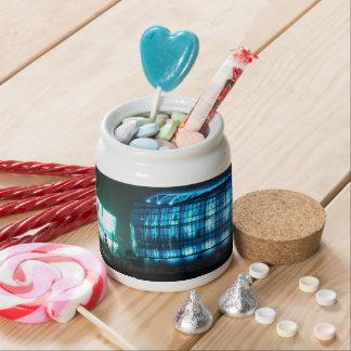 Floating Island Candy Jar