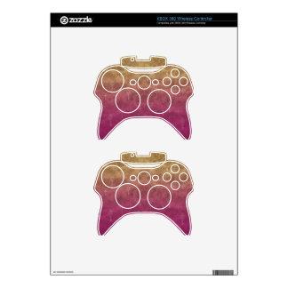 Floating Keys Xbox 360 Controller Skin