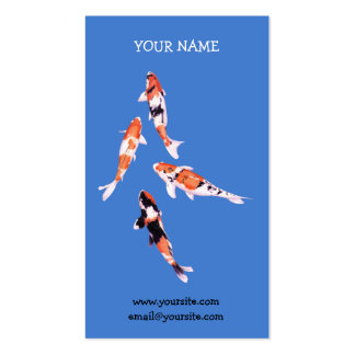 Floating Koi Business Card