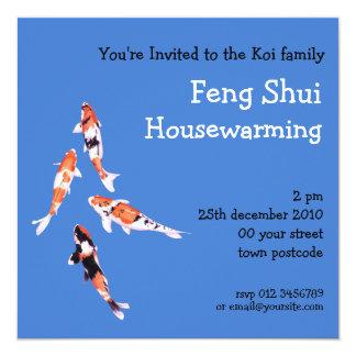 Floating Koi Invitation