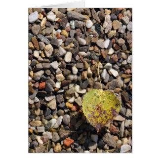 Floating Leaf Card