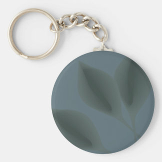 Floating leaves pool eco green garden earth day keychain