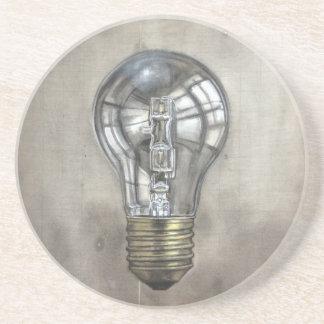 Floating Light Bulb Coaster