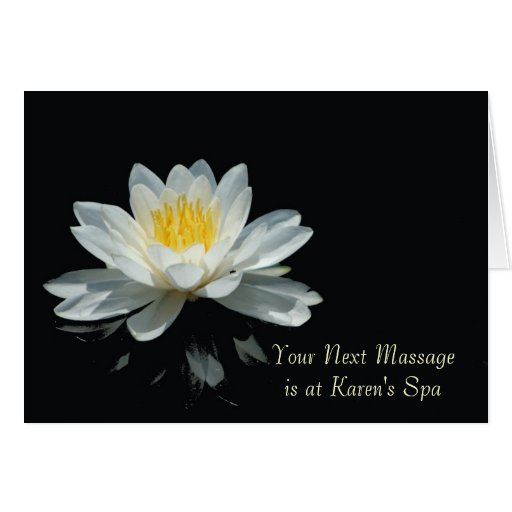 Floating Lotus Flower Note Cards
