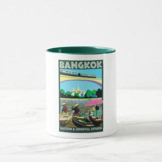 Floating Market Bangkok Thailand Mug