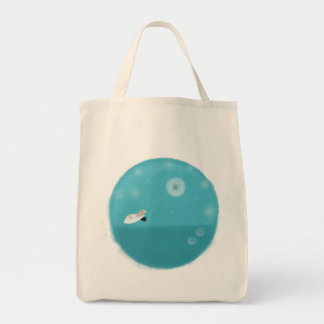 Floating Marty Grocerty Totebag Tote Bags