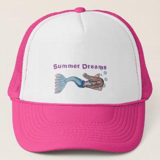 Floating Mermaid Trucker Hat