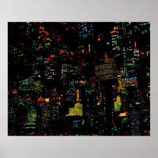 Floating Metropolis Poster