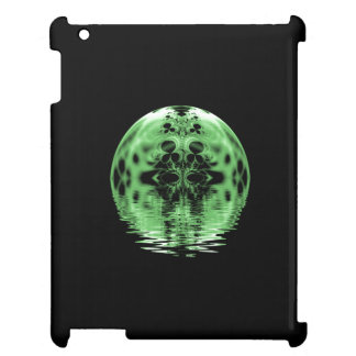 Floating Moon Green and Black Cover For The iPad 2 3 4