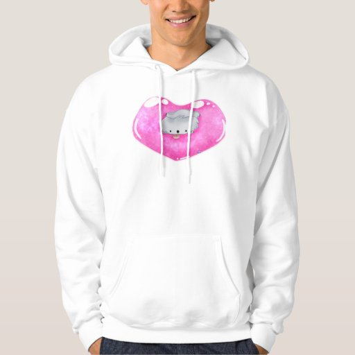 Floating on a Heart Hoodie
