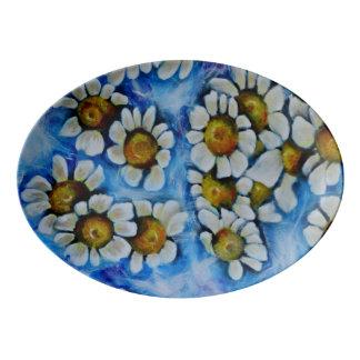 Floating On Air Porcelain Serving Platter