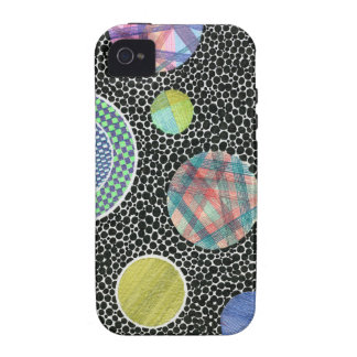 floating on black iPhone 4/4S cover