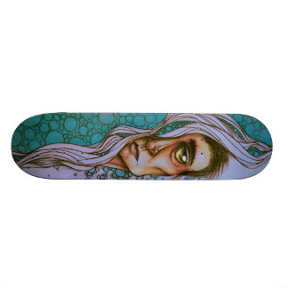 """Floating on By"" Skateboard"