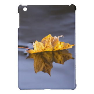Floating On By Yellow Maple Leaf iPad Mini Cases