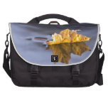 Floating On By Yellow Maple Leaf Laptop Computer Bag