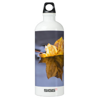 Floating On By Yellow Maple Leaf SIGG Traveler 1.0L Water Bottle