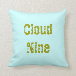 """Floating On Cloud Nine"" Pillows"