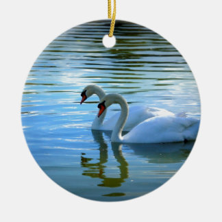 Floating on Glass Ceramic Ornament