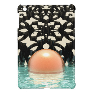 Floating Orange Object iPad Mini Cover