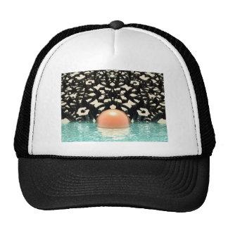Floating Orange Object Trucker Hat