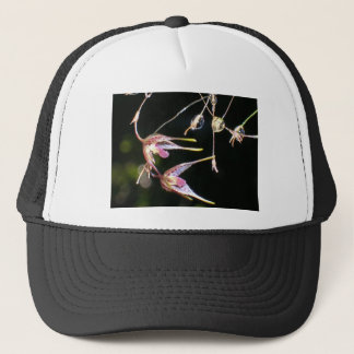 floating orchids trucker hat