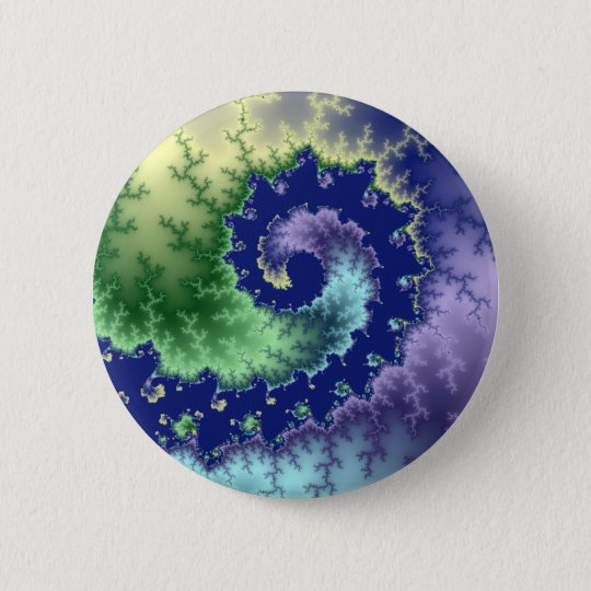 Floating Out - Fractal Button
