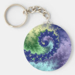 Floating Out - Fractal Keychain
