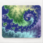 Floating Out - Fractal Mousepad