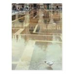 """""""Floating Palace"""" Architecture Watercolor Post Card"""