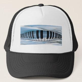 Floating Piano Keys Trucker Hat