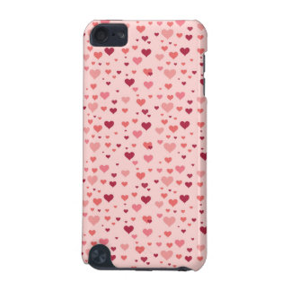 Floating Pink Hearts Valentine's Day Pattern iPod Touch 5G Cover