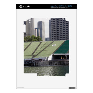 Floating platform and seats decal for iPad 3