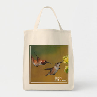 Floating Rufous Hummingbird Tote Bag