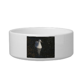 Floating Seagull Cat Food Bowl