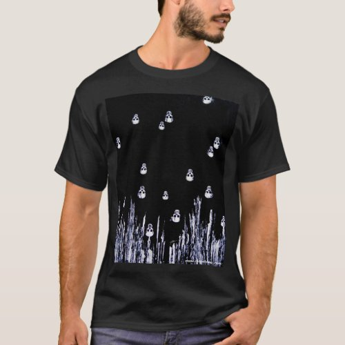 Floating Skulls T-Shirt