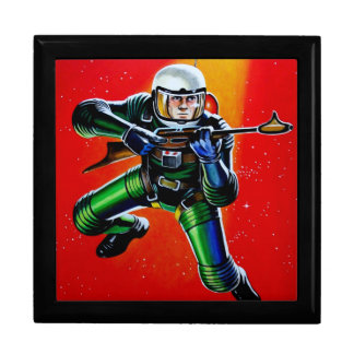 FLOATING SPACEMAN JEWELRY BOX